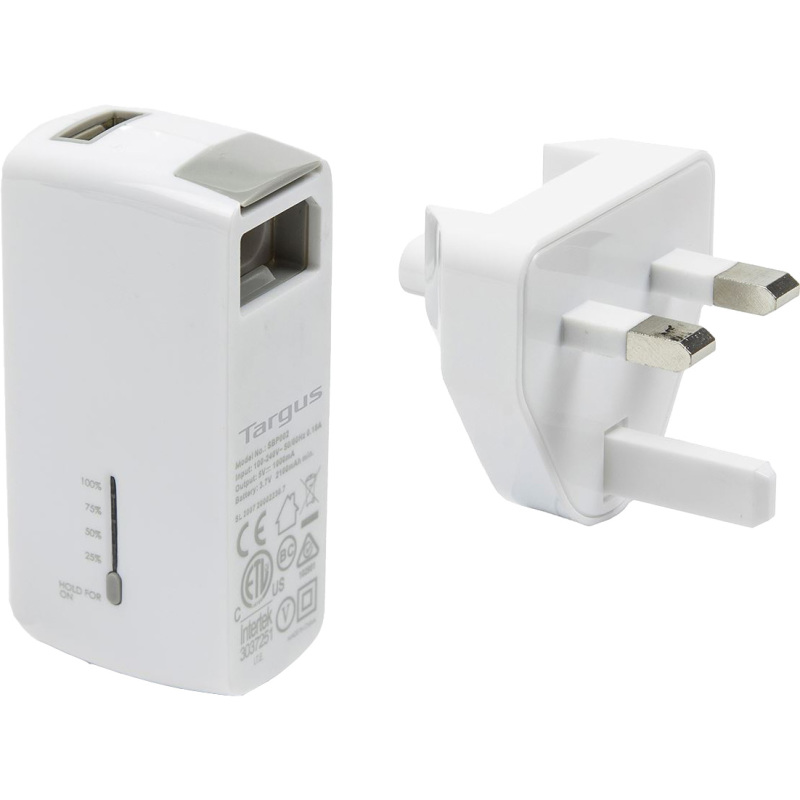 2-in-1 USB Wall Charger & Power Bank