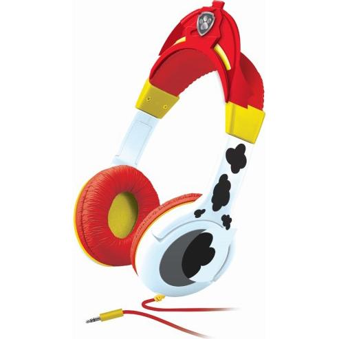 koptelefoon rood