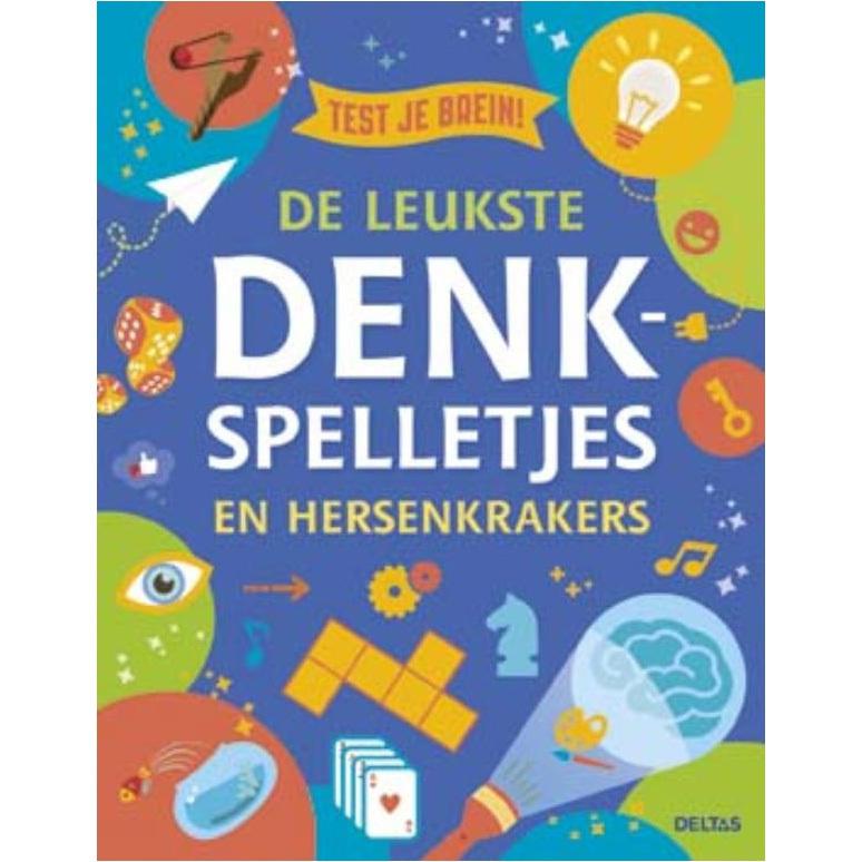 Dit boek zal je hersenen op verschillende manieren op de proef stellen. het laat je goochelen met getallen en ...