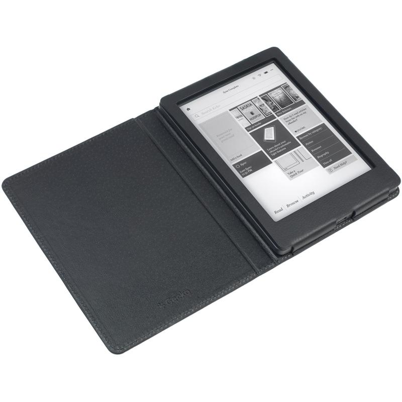 - Luxe Beschermhoes voor Kobo Aura Edition 2 (Zwart)