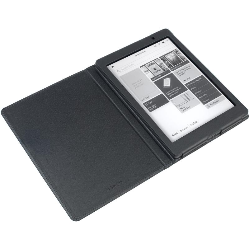 - Luxe Waterproof Beschermhoes voor Kobo Aura One (Zwart)