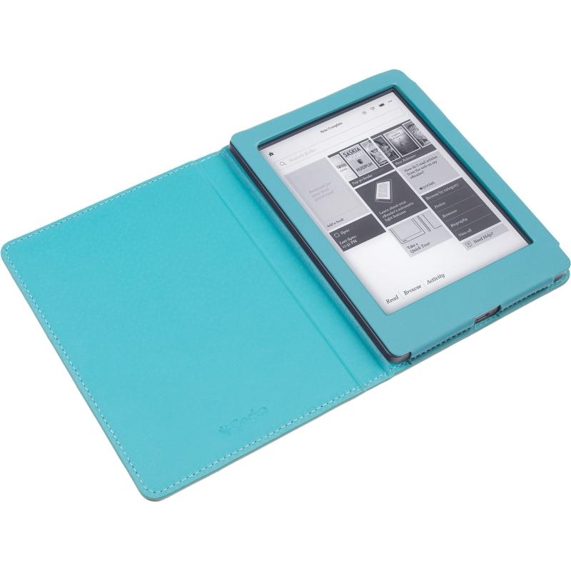 - Luxe Beschermhoes voor Kobo Aura Edition 2 (Blauw)