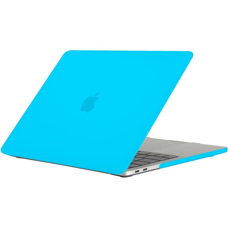 - 'Clip On' Beschermhoes voor MacBook Pro 13 inch (2016) Licht Blauw