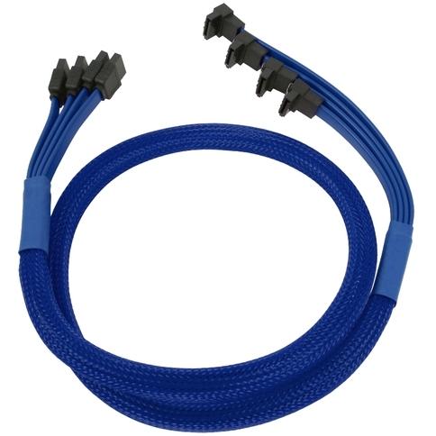 4-voudige SATA III kabel 85 cm