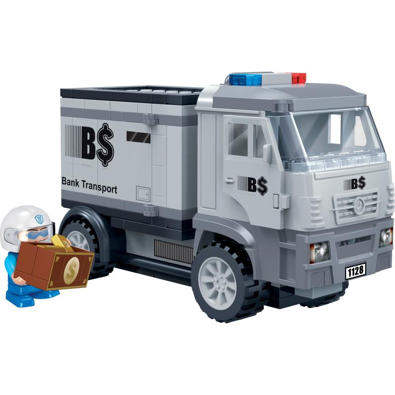 Police Geldtransportwagen