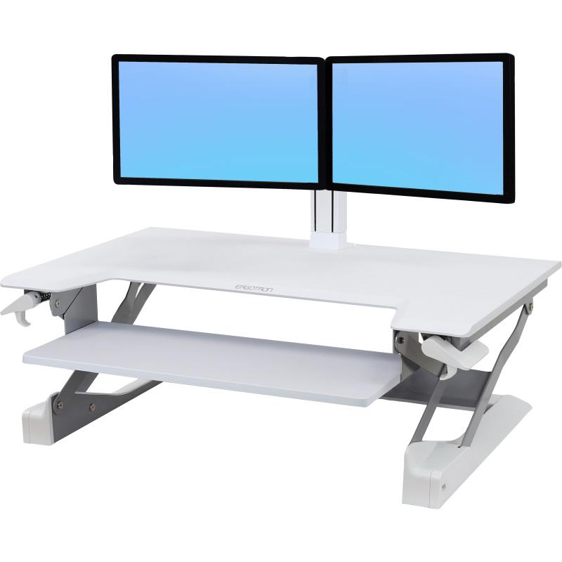 WorkFit-TL, Sit-Stand Desktop Workstation