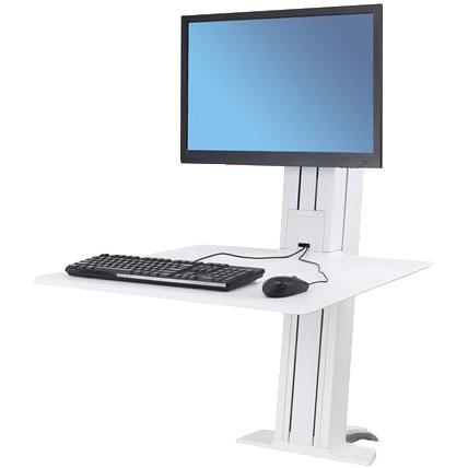 WorkFit-SR Single Monitor, Sit-Stand Desktop Workstation