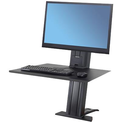 WorkFit-SR Heavy Monitor, Sit-Stand Desktop Workstation