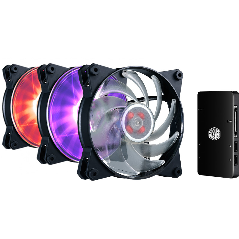 MasterFan Pro 120 Air Balance RGB 3 in 1 Pack