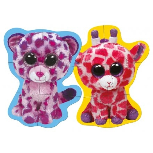 Ty Beanie Boo's 35 Shape Puzzle 4 in 1 6 pcs