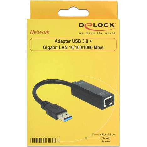 Adapter USB 3.0 > Gigabit LAN
