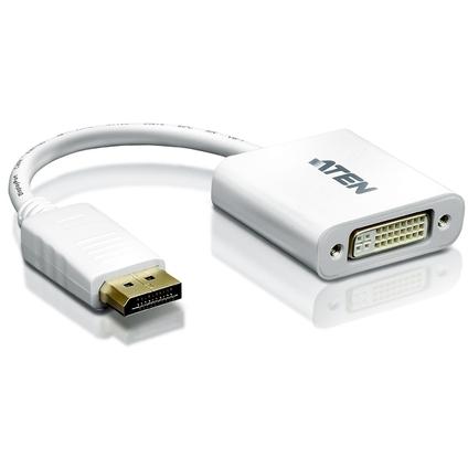 ATEN VC965 DisplayPort-adapter DisplayPort (M) naar DVI-D (V) wit