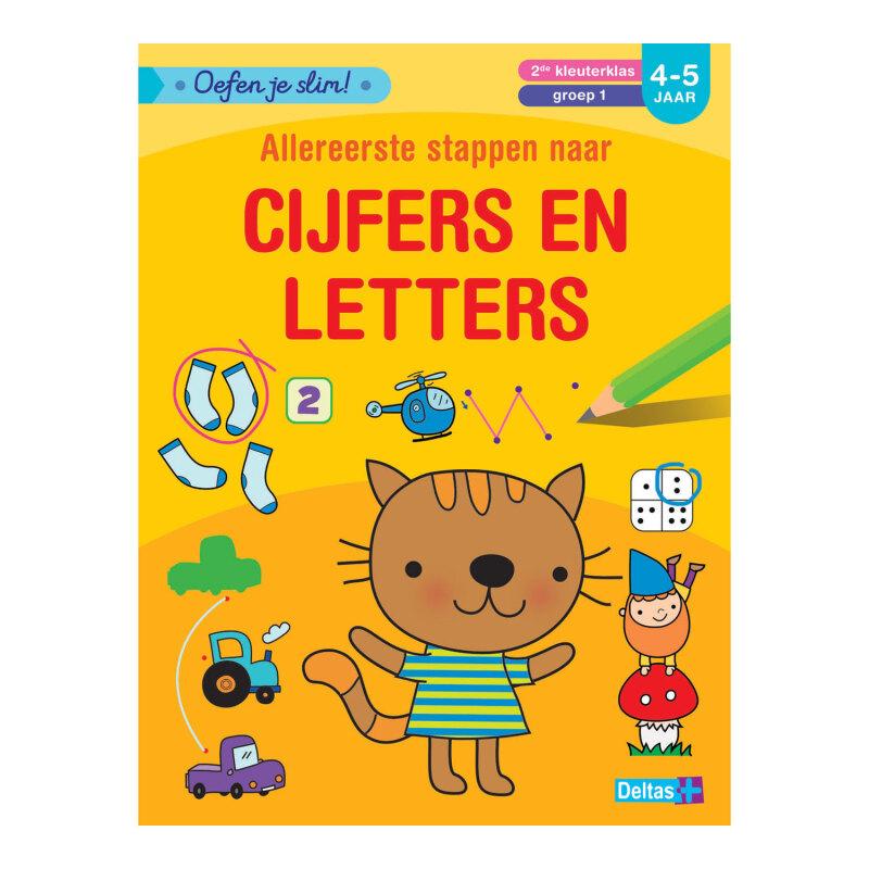 Oefen je slim! - Allereerste stappen naar cijfers en letters