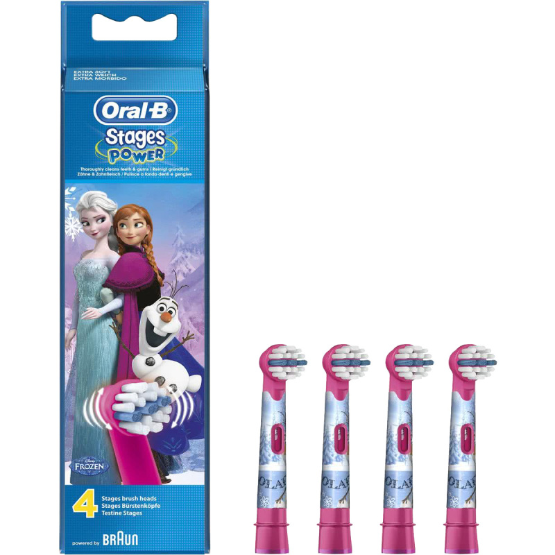 Oral-B Opzetborstel Stages Power Frozen