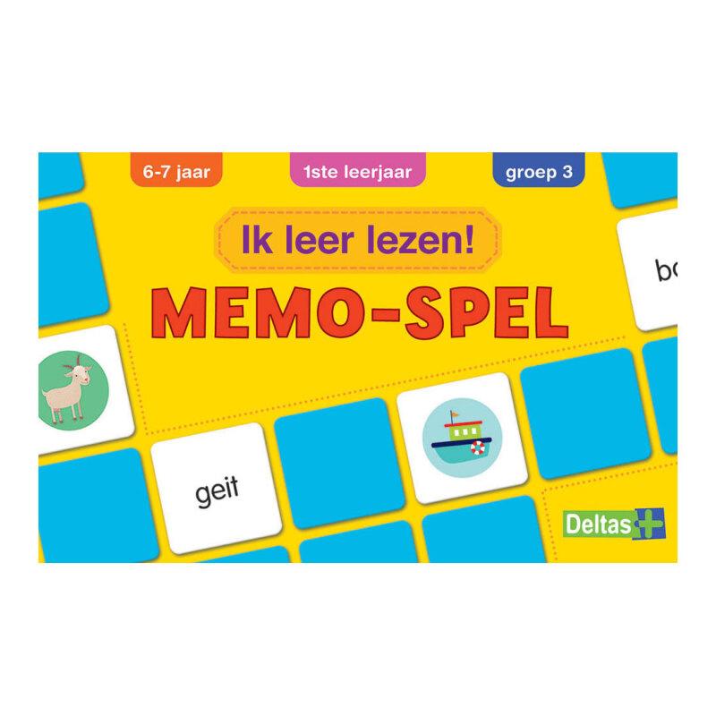 Ik leer lezen! - Memo-spel