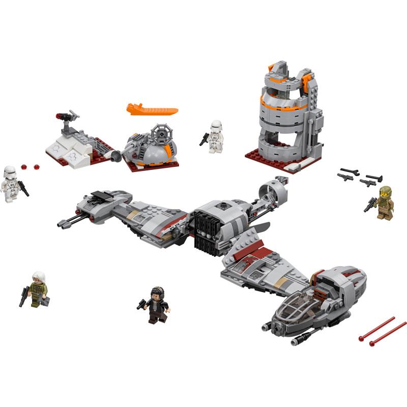 Star Wars - Verdediging van Crait