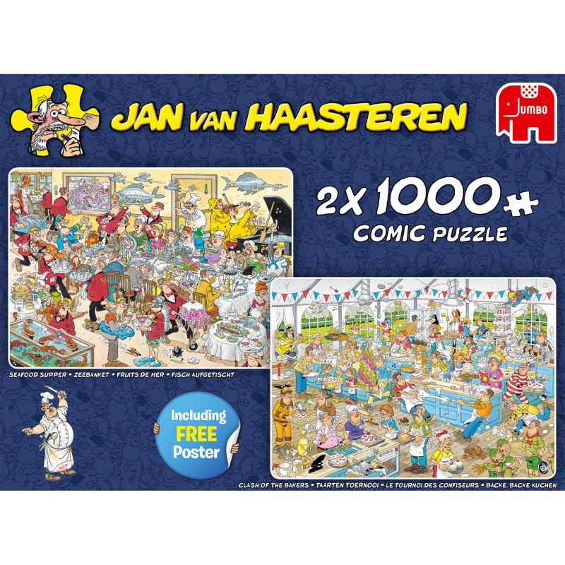 Jan van Haasteren Food Frenzy puzzels