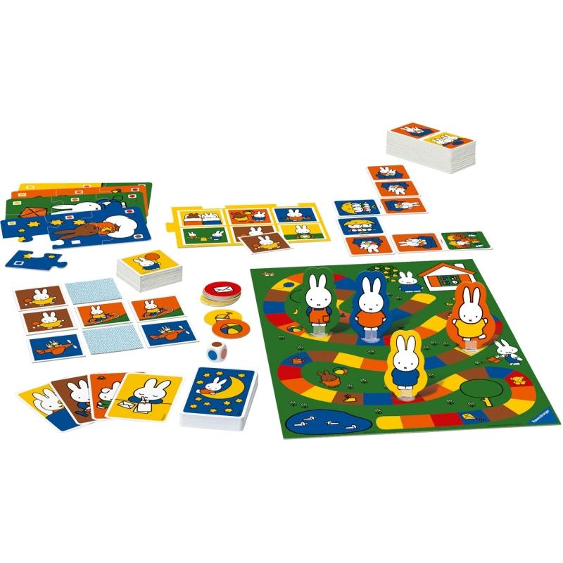 Spel 6 in 1 Nijntje o.a. memory-domino