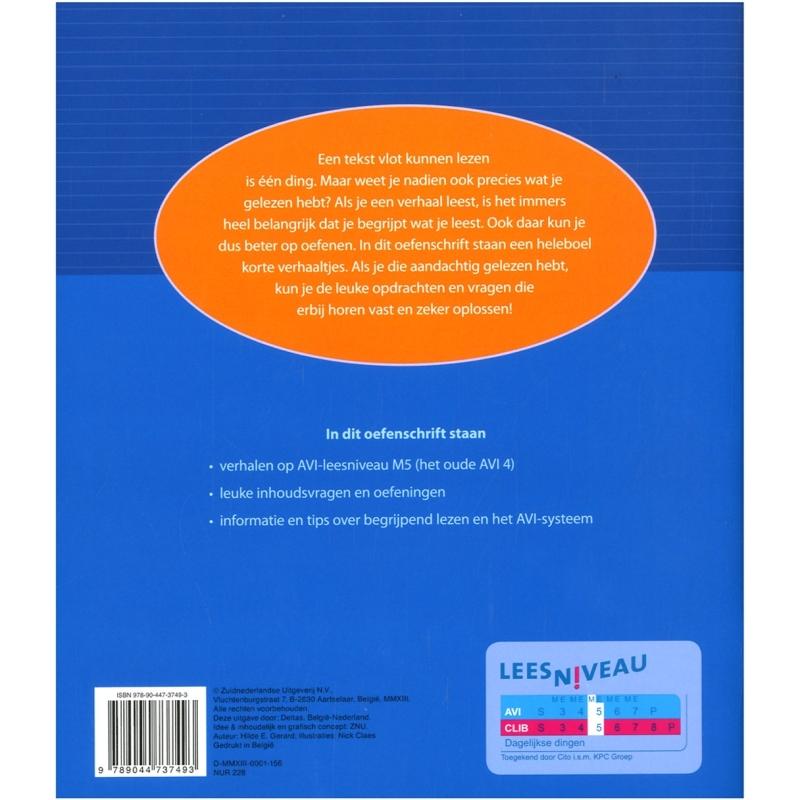Oefenschrift begrijpend lezen M5 (groep 5)