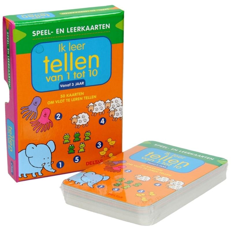 Speel- en leerkaarten - Ik leer tellen van 1 tot 10
