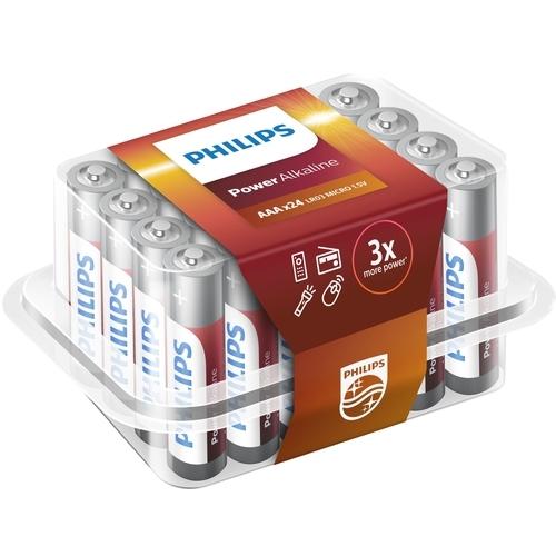 Batterij box 24st AAA LR03 Power Alkaline