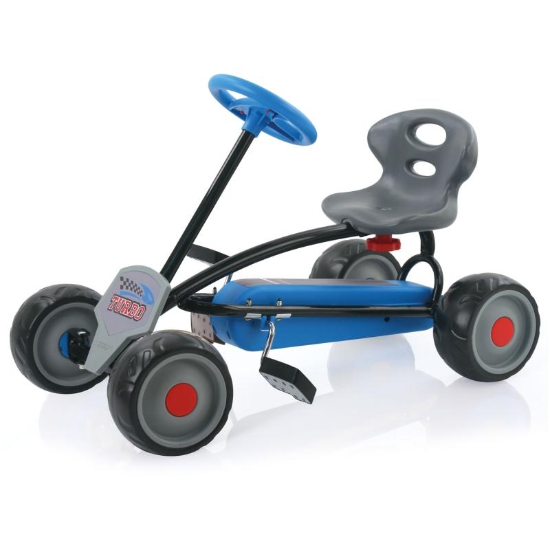 Turbo miniskelter blauw