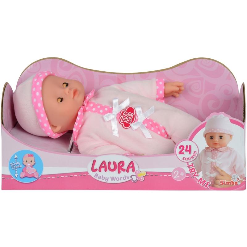 Laura pratende babypop Baby Words