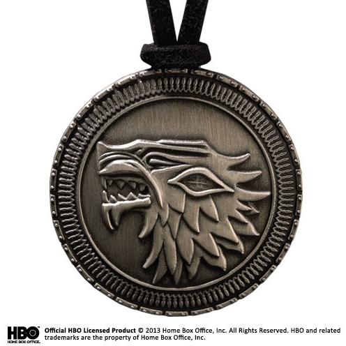 Game of Thrones ketting met hanger Stark Shield