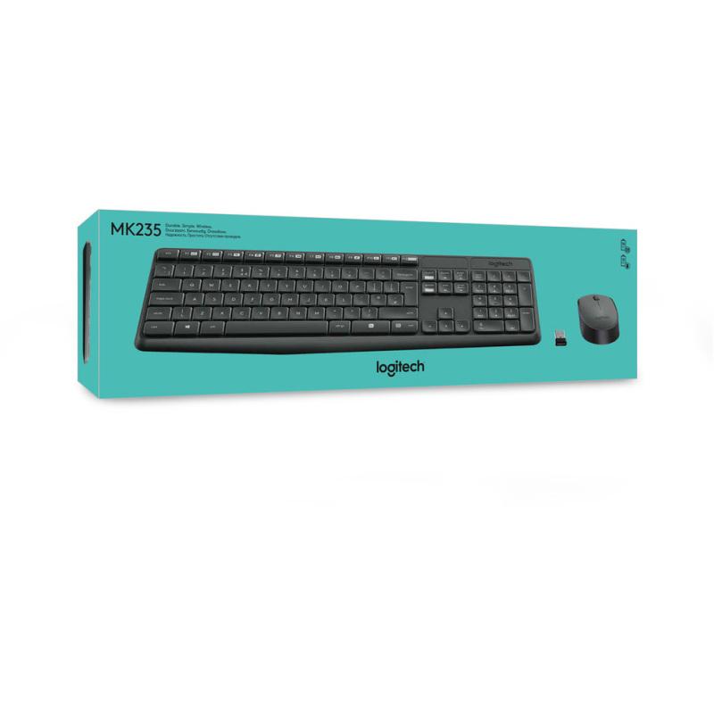 MK235 Wireless Keyboard en Mouse