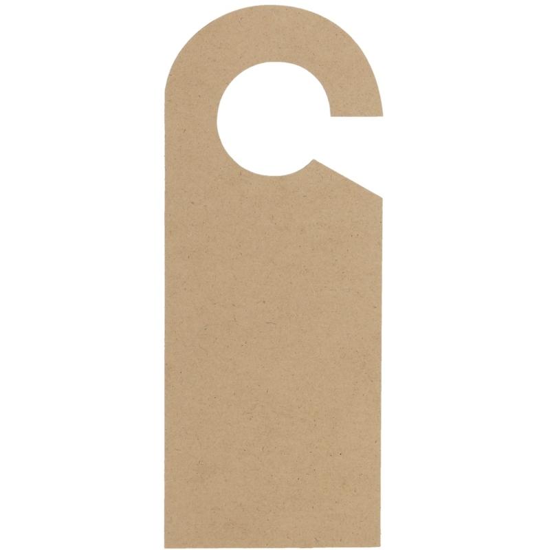 Versier je eigen houten deurhanger