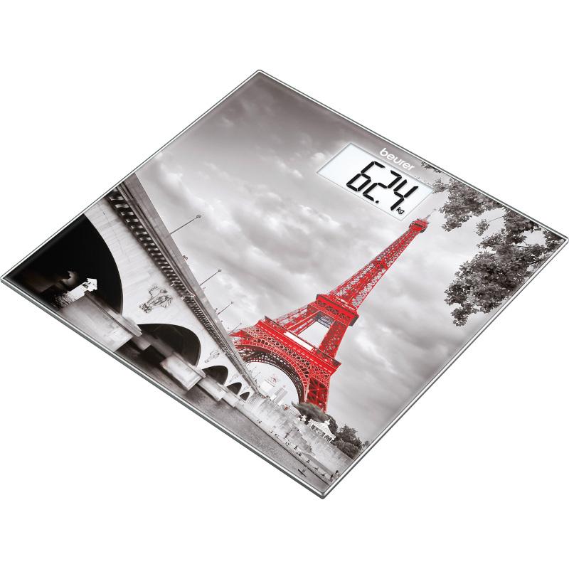 Weegschaal met glazen weegplateau GS 203 Paris