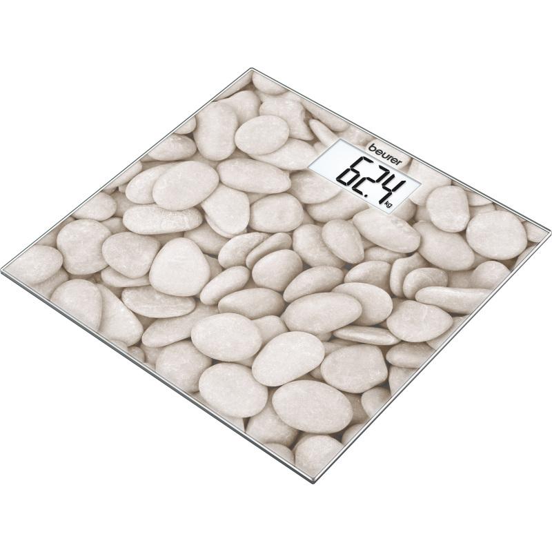 Weegschaal met glazen weegplateau GS 203 Stone