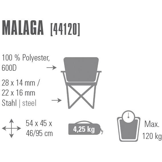 Malaga campingstoel