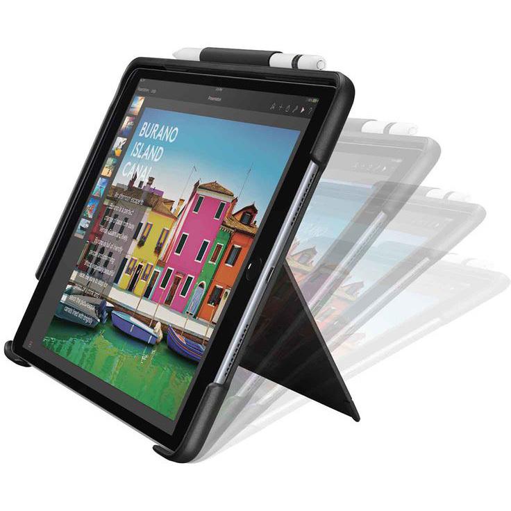 Slim combo Case met afneembaar verlicht Bluetooth-toetsenbord voor iPad (5e en 6e generatie)