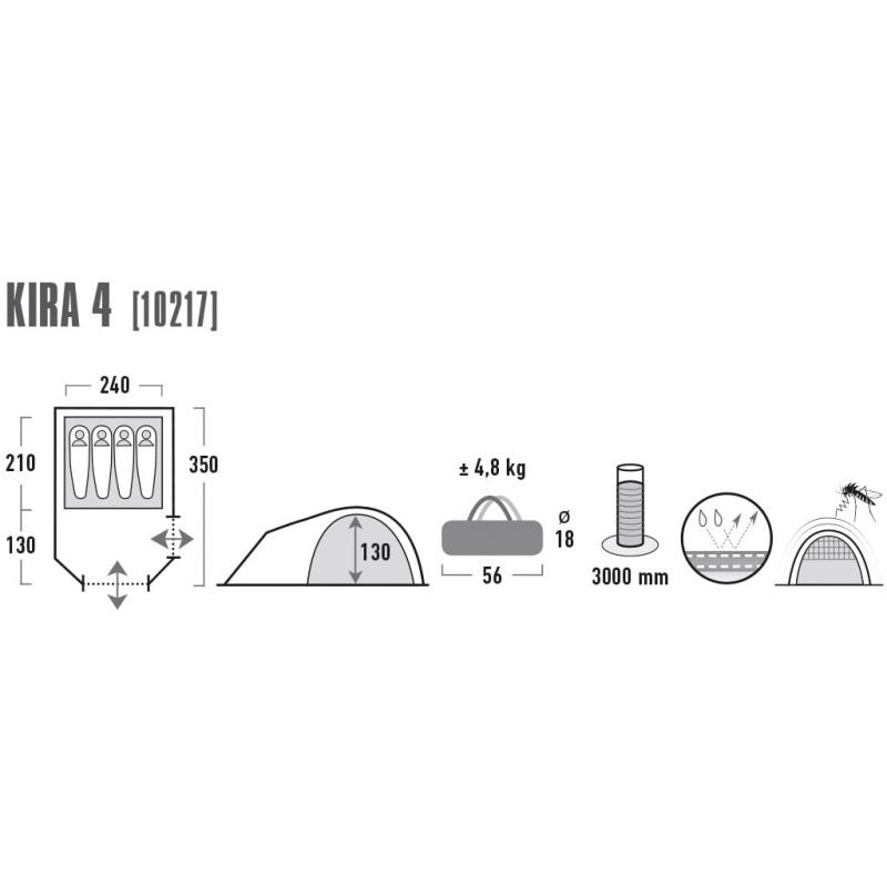 Kira 4 tent
