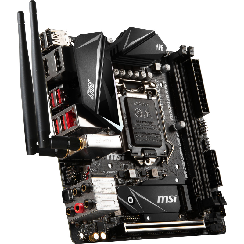 MPG Z390I GAMING EDGE AC