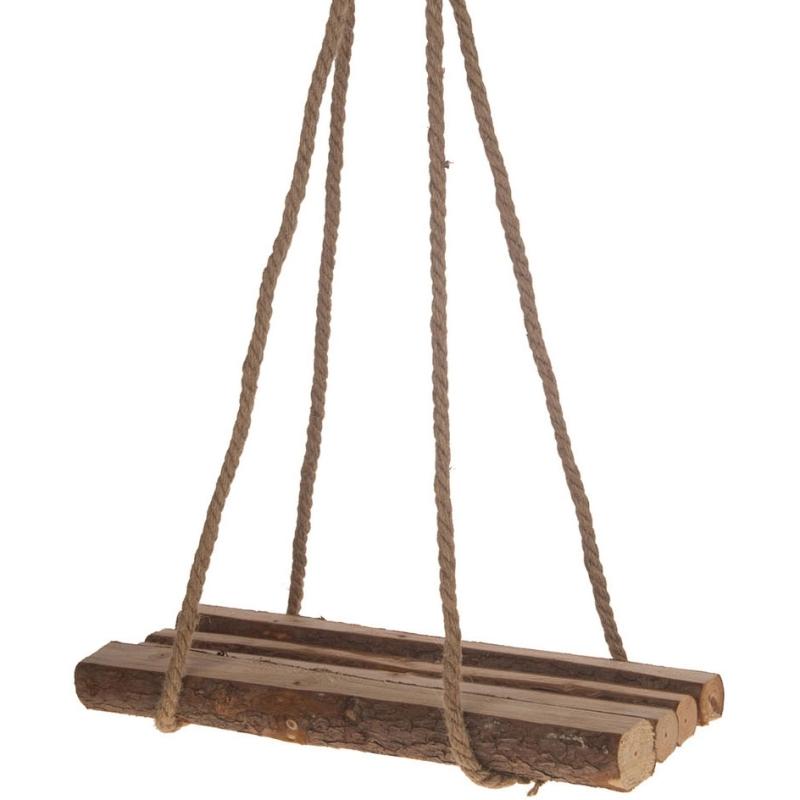 Hangende Decoratie Plank Hout, 40x15cm
