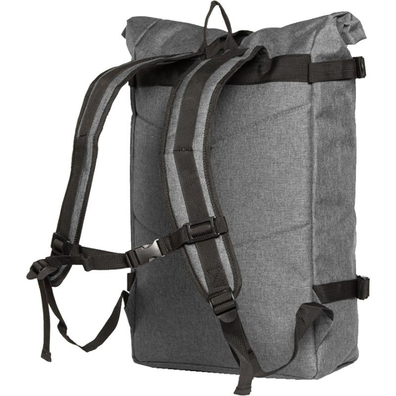 24ed533097f de backpack grey van new rebels is een handige stijlvolle rugzak met veel  opbergruimte