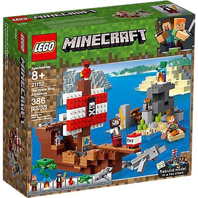 Minecraft Avontuur op het piratenschip