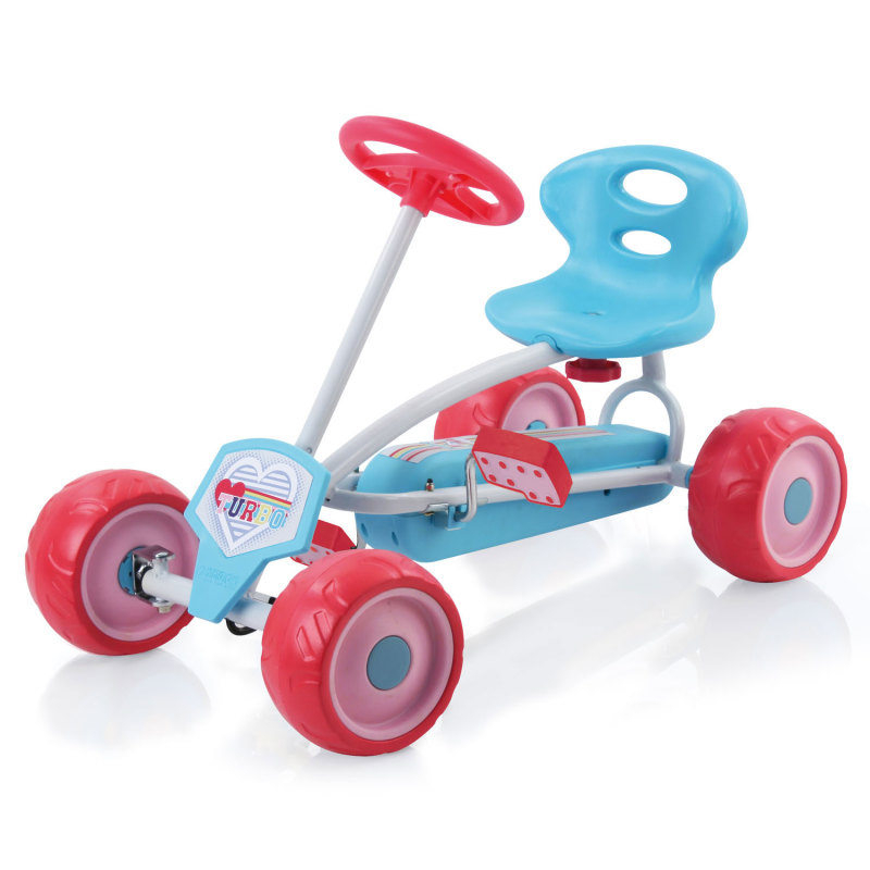 Turbo miniskelter roze