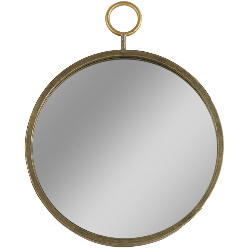 Spiegel Farah Goud. 39.5cm