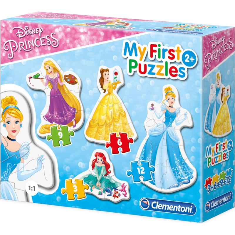 My First Puzzles Disney Princess puzzel, 3, 6, 9 en 12 stukjes