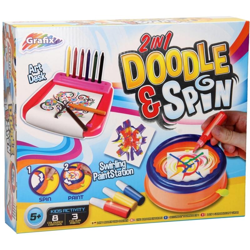 Doodle & Draaiset 2in1