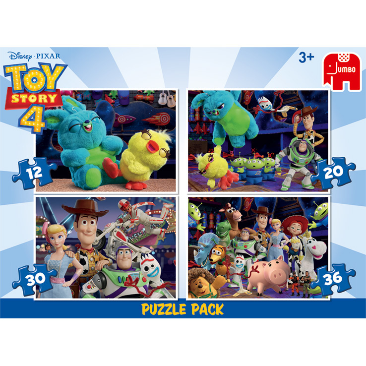 Disney Toy Story 4 4in1 Puzzel Pakket