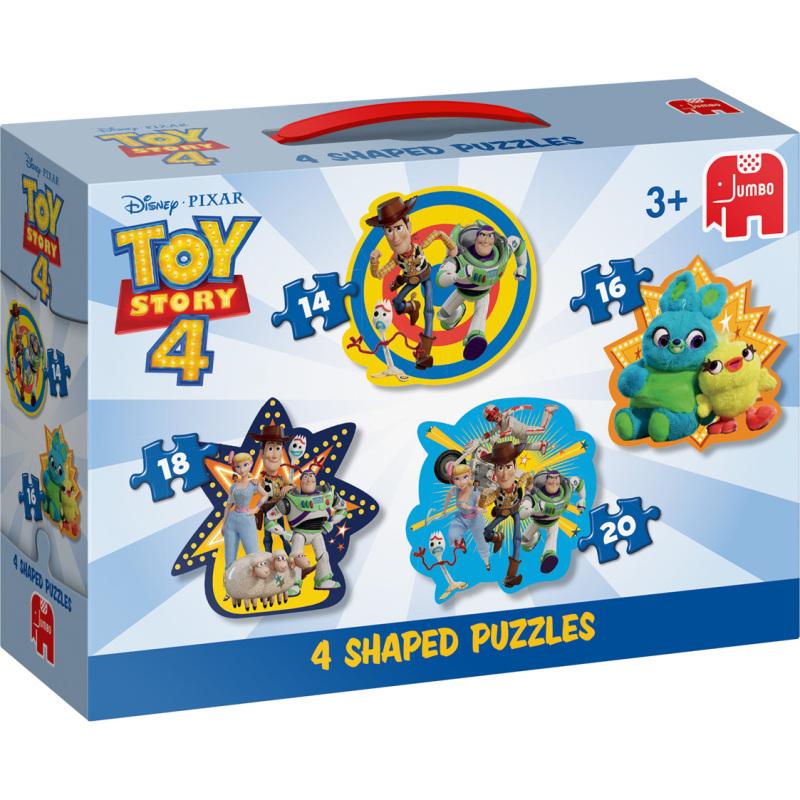 Disney Toy Story 4 4in1 Vormpuzzels