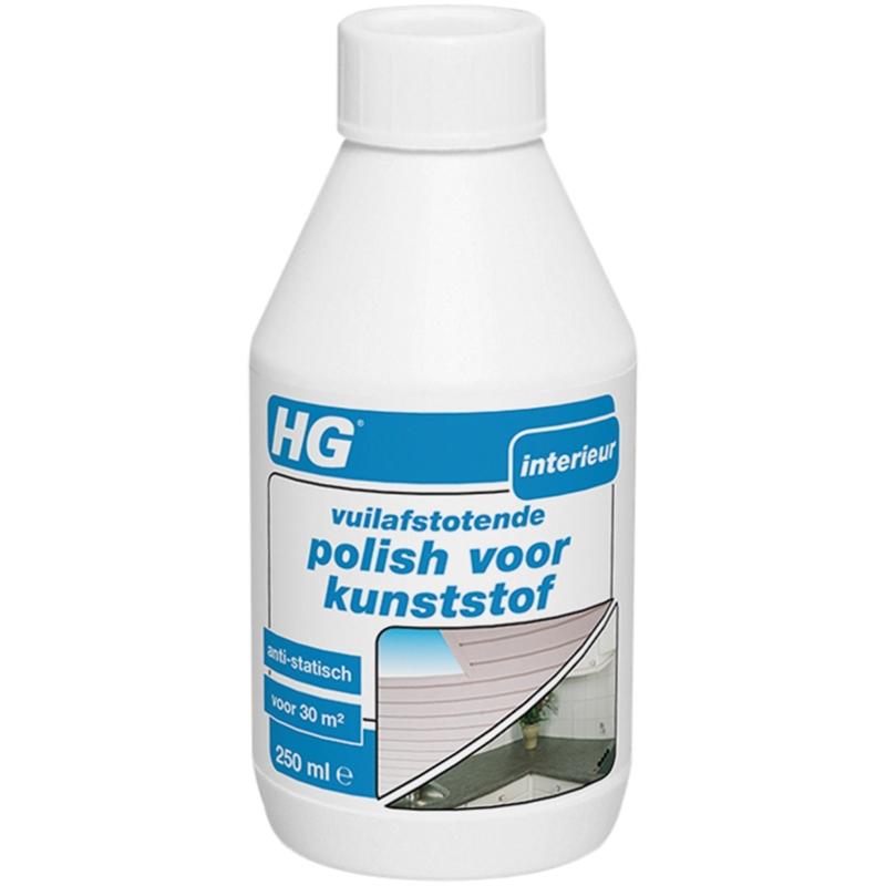vuilafstotende polish voor kunststof, 250 ml