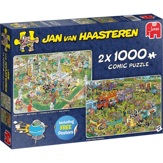 Jan van Haasteren Food Festival puzzels