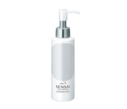 Silky purifying cleansing milk