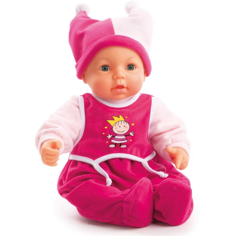 Hello Baby babypop met functies, 46 cm