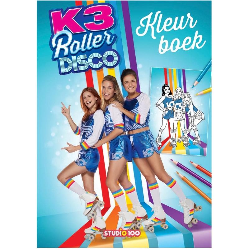 Kleurboek K3 - Rollerdisco K3